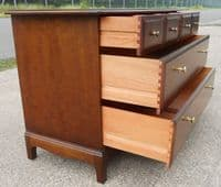 SOLD - Stag Minstrel Mahogany Chest of Drawers